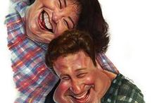Caricature art / I love caricatures...especially of my favorite characters... / by Phoenix Richards-Bingham