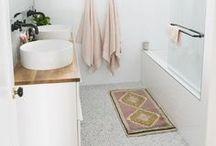 projects: powder bath & laundry + pantry