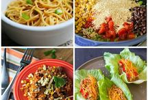 The Main Dish / Dinner and lunch ideas
