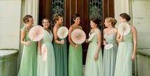 Bridesmaid dress ideas / bridesmaids dresses for the stylish bride. Bridesmaids dress designs that I like. chic bridesmaids dresses, designer bridesmaids dresses, couture bridesmaids dresses