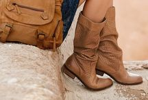 Boots & Bags / leather / by Slow Ride