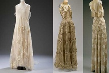 1930's fashion / Inspiration for evening gowns and bridal wear