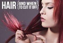 BEAUTY // H A I R / Hair styles and color / by { K I W I I }