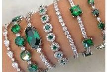 Emerald Green / Emerald is my birthstone and also my favorite color.
