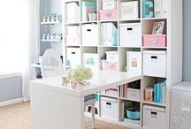 Creative & office space ideas / Always looking for a new way to redo my creative and office spaces!