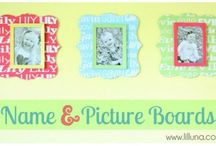 Photo frames and displays