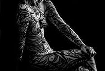 Body Painting Ideas / Inspirations for full and partial body art