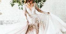 Oh So Boho! / The casual bride. Beach weddings, informal weddings, bohemian wedding dresses
