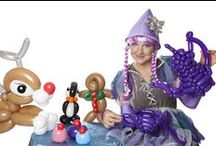 Balloon Modelling / Fantastic Balloon Modelling designs from our fantastic Balloon Modellers from Contraband Events. Contact: +44 (0)208 829 1140 | info@contrabandevents.com | www.contrabandevents.com