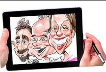 Caricature / Caricature, Cartoon, Balloon Caricature, Badge, Mugs & Other Media Caricature, Digital Caricature, etc. Contact: +44 (0)208 829 1140 | info@contrabandevents.com | www.contrabandevents.com