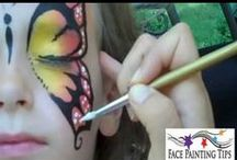 face paint ideas / by Carolyn Lancaster