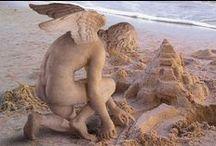 Sand Sculpture / Sand Sculpture. Amazing artistry! Contact: +44 (0)208 829 1140 | info@contrabandevents.com | www.contrabandevents.com