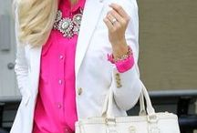 Spring/Summer Style / spring and summer outfit inspiration