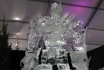 Ice Sculpture / Creative designs sculpted out of ice (if you hadn't guessed that already) by our extremely talented Ice Designers. Contact: +44 (0)208 829 1140 | info@contrabandevents.com | www.contrabandevents.com