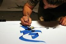 Calligraphy Artists / If you were looking for something different... here you have it!! Contact: +44 (0)208 829 1140 | info@contrabandevents.com | www.contrabandevents.com