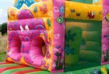 Bouncy Castles & Soft Play / Fabulous soft play equipment for young children!! Inflatable slides, holes to climb through or plastic coloured balls... great for both corporate or private events!! Contact: +44 (0)208 829 1140 info@contrabandevents.com