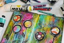All about art journaling