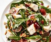 Dinner Worthy Salads / Salad as a main course recipes
