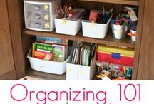 Organization / Storage /  Organization ideas, tips / tricks for all sorts of different things.