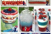 4th of July / This board is full of 4th of July recipes, party ideas,  home decor, nail designs, and outfit ideas.
