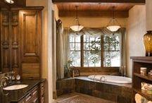 Bathroom / Bathroom storage ideas and organization, bathrooms that I love, and of course a few dream bathrooms!!