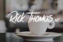 Rick's Articles / Our earnest desire is to provide excellent, Gospel-centered teaching and counsel to as many people as possible. Our article content provides tools and resources FREELY to anyone who may need help or who shares our vision to help others in need. / by Rick Thomas