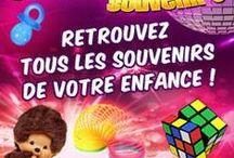 Présentation de Génération Souvenirs / Génération Souvenirs, c'est le 1er site de e-commerce consacré entièrement à tous vos souvenirs d'enfance ! Retrouvez-nous vite sur : www.generation-souvenirs.com
