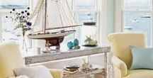 Nautical Home Decorating Ideas / Home and Office Nautical Theme Decorating and Design Ideas