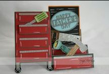 Father's Day / Masculine Cards / Father's Day Cards, Masculine Birthday Cards, or any occasion cards for a man.