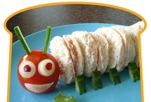 Kid Food: Kids Cooking, Eating, and Learning! / The Little Engineer loves making fun food  with me -- and I love finding ideas for all natural, food-coloring free, vegetarian meals and snacks that will make him smile.