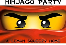 Ninjago Birthday Party Theme Ideas / by Jennifer Bolger
