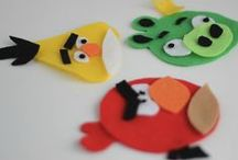 "Angry Birds Activities for Preschoolers / The Little Engineer LOVES Angry Birds almost as much as he loves trains.  And I only say ""almost"" because he wants to be an engineer when he grows up, not an Angry Bird!  Fortunately, there are plenty of screen-free ways to enjoy the birds and ""piggies"" and learn something in the process.  Here are our favorites, plus some general bird activities I think could be adapted.  You can also find Angry Birds + trains ideas at play-trains.com."
