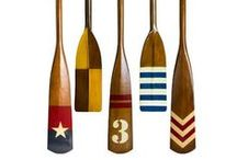 Decorative Wooden Oars and Ideas