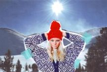 SKI KNITWEAR COLLECTION / Do you love to ski? Be the cutest snow bunny on the mountain with our wool knitting kits.  http://www.weareknitters.com/en/knitting-kits / by WE ARE KNITTERS