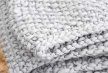 KNIT TEXTURES / We are mad about all knitting textures!