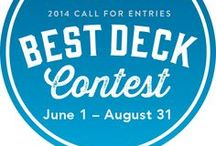 2014 Best Deck Contest Entries / Entries in this year's contest using Deckorators products for a chance to win cash prizes. Enter via our Facebook page through August 31, 2014.