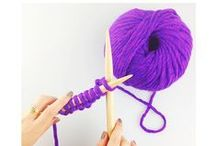 IN PURSUIT OF PURPLE / Violet inspiration / by WE ARE KNITTERS