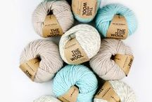 WAK FIBERS / WAK fibers in fun colors, what's not to love? The wool, the petite wool, the baby alpaca, the cotton pima and the fabric yarn. / by WE ARE KNITTERS