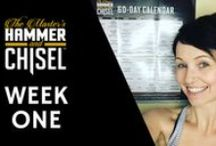 Hammer & Chisel / The Master's Hammer & Chisel is a new at-home workout from Autumn Calabrese & Sagi Kalev.