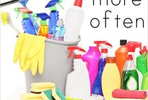 Cleaning and organizing / Cleaning tips, tricks, hacks, and ideas. Organization strategies.