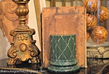 Architectural Elements / by allaboutvignettes.blogspot.com