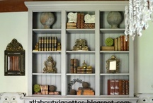 Bookcases / by allaboutvignettes.blogspot.com