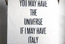 MY ITALY / by Elle Design Studio