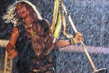 Rockin with the rhythm of the rain / by Maryann