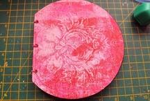 Gelli Plate monoprinting / by Tee's Files