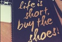 wise words / by Miranda Miller