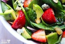 Mean Greens! / Scrumptious salads, main dish or side! / by Gina Moore