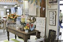 display ideas for booths / by Lili Gump