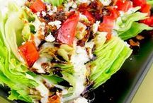Salad and dressings!