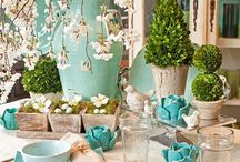 table settings / by Lili Gump